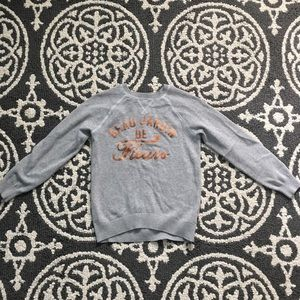 Label of graded goods H&M girls sweater